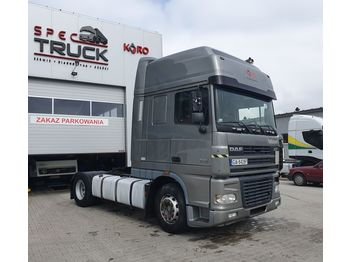 DAF XF 95 430, Steel /Air, Manual, Super space cab - Sattelzugmaschine