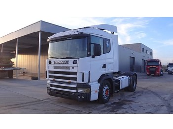 Scania 124 - 400 (WITH HYDRAULIC TIPPING PUMP / ENGINE WITH MANUAL FUEL PUMP) - Sattelzugmaschine