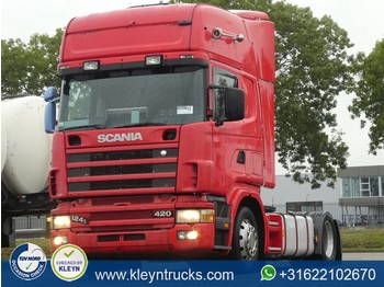 Scania R124.420 tl manual retarder - Sattelzugmaschine