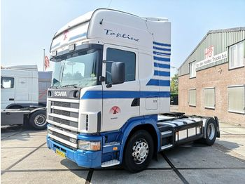 Scania R124 4x2 420 | Retarder | Manual | Topline  - Sattelzugmaschine