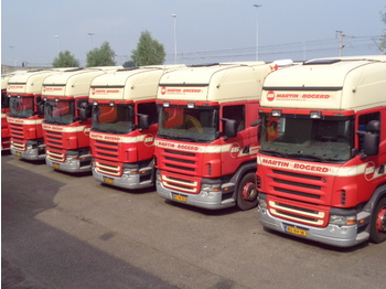 Sattelzugmaschine Scania R380 TOPLINE 3X IN STOCK