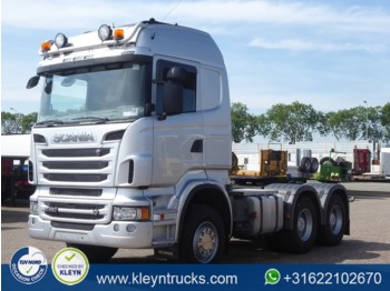 Sattelzugmaschine Scania R620 6x4 hhz manual ret.