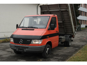 MERCEDES-BENZ Sprinter 412 D KIPPER - Kipper Transporter